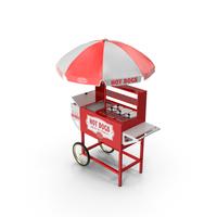 Hot Dog Vending Cart PNG & PSD Images