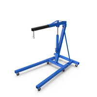 Hydraulic Engine Crane PNG & PSD Images