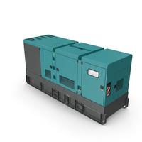 Industrial Power Diesel Generator Generic PNG & PSD Images