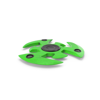 Fidget Spinner Green Dirty PNG & PSD Images