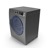 Inox Front Load Dryer Samsung PNG & PSD Images