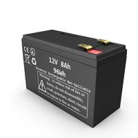 12 Volt Battery PNG & PSD Images