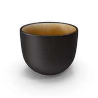 Japanese Black Cup PNG & PSD Images