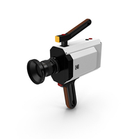 Kodak Super 8 Movie Camera PNG & PSD Images