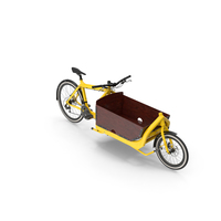 Cargo Bike with Box PNG & PSD Images