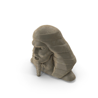 Pharaoh Head Statue PNG & PSD Images