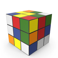 Multicolored Puzzle Cubes PNG & PSD Images