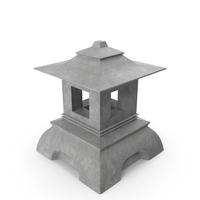 Japanese Stone Lantern PNG & PSD Images
