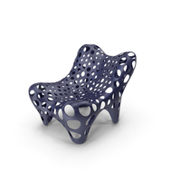 Fauteuil II Midnight Blue PNG & PSD Images