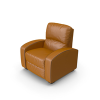 Home Theater Leather Recliner Armchair PNG & PSD Images