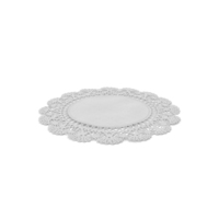 Lace Round Paper Doily PNG & PSD Images