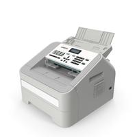 Laser Copy Fax Print Machine PNG & PSD Images