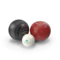 Lawn Bowls Set PNG & PSD Images