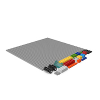 Lego Bricks Random Pieces PNG & PSD Images
