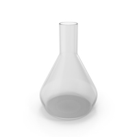Alchemical Flask Medium Round Empty PNG & PSD Images