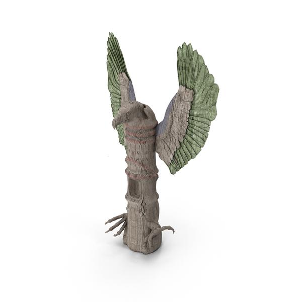 Totem Pole Eagle PNG & PSD Images
