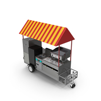 Limo Hot Dog Cart PNG & PSD Images