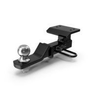 Loaded Ball Mount Hitch PNG & PSD Images