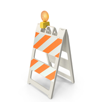 Barricade Warning Light PNG & PSD Images