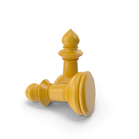Chess Pawn Yellow PNG & PSD Images