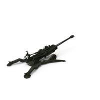 M777 Howitzer 155mm Battle Position PNG & PSD Images