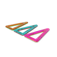 Magnetic Designer Stretched Triangles PNG & PSD Images