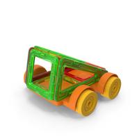 Magnetic Designer Toy Car PNG & PSD Images