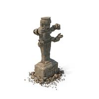 Aztec Statue PNG & PSD Images