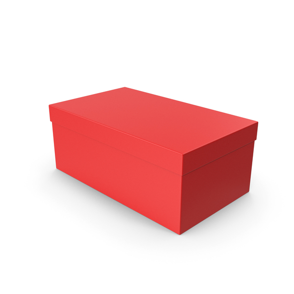 Shoe Box Red PNG & PSD Images
