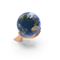 Hand Holding Earth PNG & PSD Images