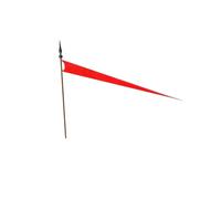 Medieval Long Flag PNG & PSD Images