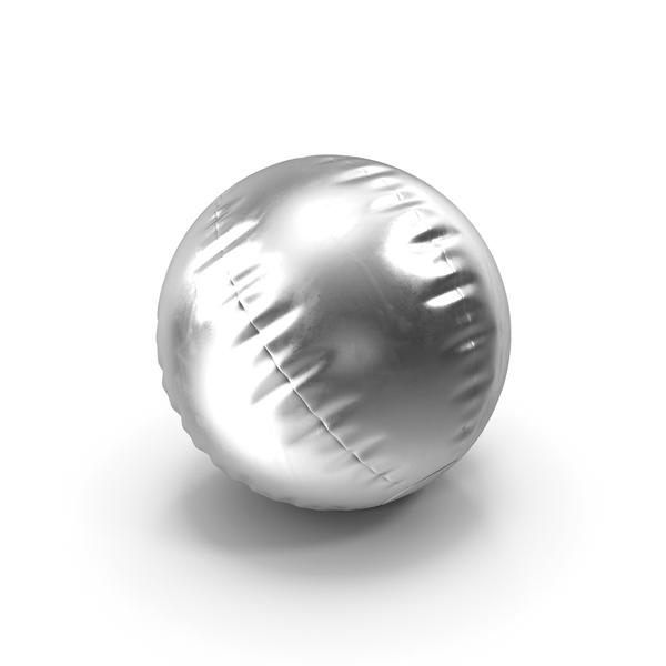 Beach Ball Metallic PNG & PSD Images