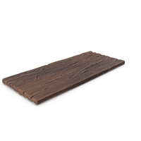 Stylized Wooden Plank PNG & PSD Images