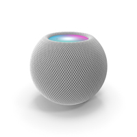 Apple HomePod Mini White PNG & PSD Images