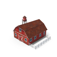 Red Barn PNG & PSD Images