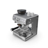 Breville Barista Express Espresso Machine PNG & PSD Images