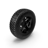 Off Road Wheel NITTO & ROCKSTAR PNG & PSD Images