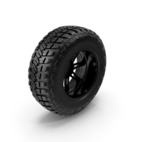 Off Road Wheel GOOD YEAR & FUEL PNG & PSD Images
