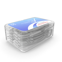 CleanStar Dental Floss Toothpicks Box PNG & PSD Images