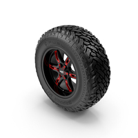Off Road Wheel FUEL & MOTOMETAL PNG & PSD Images