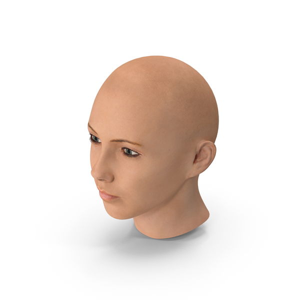 Female Bald Head PNG & PSD Images