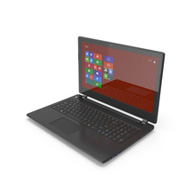 Black Premium Laptop With Touch Screen PNG & PSD Images