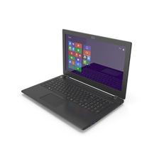 Premium Black Laptop 15.6 PNG & PSD Images