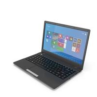 Black Laptop 14 PNG & PSD Images