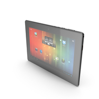 """Android small PC Tablet 7"""" PNG & PSD Images"""