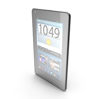 """Android compact PC Tablet 7"""" PNG & PSD Images"""