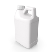 Plastic F Style Bottle Half Gallon With Child Resistant Cap PNG & PSD Images