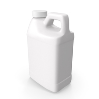 Plastic F Style Bottle 1/2 Gallon With Smooth Plastic Cap PNG & PSD Images