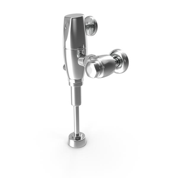 Manual Urinal Flush Valve PNG & PSD Images