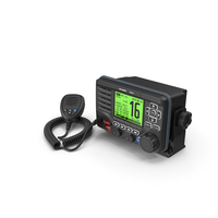 Marine VHF Radio Transceiver with Microphone PNG & PSD Images